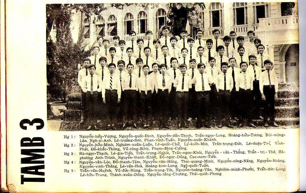 Class 10B3 Year 1969